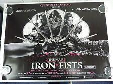 The Man with the Iron Fists Crowe Liu Original Film / Movie Poster Quad 76x102cm