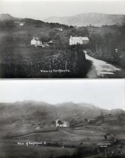 2 Kentmere Nr Staveley Kendal unused sepia RP old postcards J Simcoe Good
