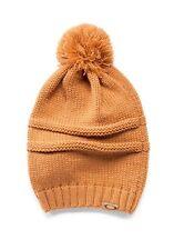 Women's Oakley MFR Marie_France Roy Ski Snowboard Hat Beanie Cognac Orange