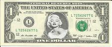 Marilyn Monroe Dollar Bill - REAL Money! - Not Just a Novelty!