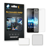 3 x Ultra Clear LCD Screen Guard Protector Film for Sony Xperia V (LT25i)