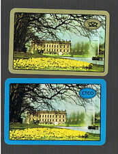 "Playing Swap Cards 2  VINT  ""CHATSWORTH  HOUSE ""U.K. DAFFODILS  GALORE  #390"