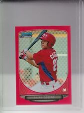 2013 Bowman Chrome Mini Red Refractor #209 Dylan Cozens (07/10) Phillies RC