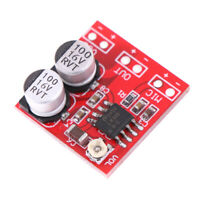 DC 5V-12V LM386 electret microphone power amplifier board gain 200times mic a MO