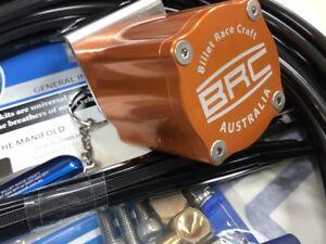 Diff Breather Kit 6 Port 4x4 Differential and Gearbox  Universal. ORANGE. Aussie
