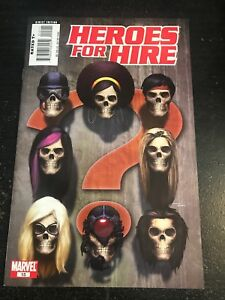 Heroes For Hire#15 Incredible Condition 8.5(2007) Skull Cover