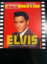 CD OST Elvis Presley - It Happened at World's Fair (Mini LP Style Card Case) NEW