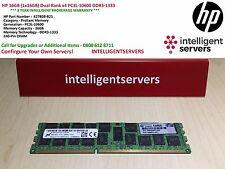 HP 16GB (1x16GB) Dual Rank x4 PC3L-10600 DDR3-1333 * 627808-B21 *