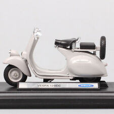 1:18 motorcycle Diecast model bike scale Welly vintage 1953 VESPA 125CC Scooter