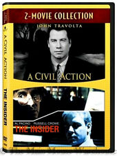 A Civil Action & The Insider Double Feature Court Case Lawsuit True Stories DVD