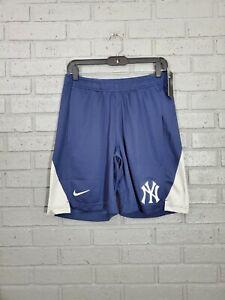 NWT Nike New York NY Yankees MLB Baseball Training Shorts Mens Size M N256 048N