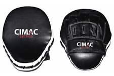 Cimac Leather Focus Mitt Boxing Karate Hook & Jab Kickboxing Training Pad