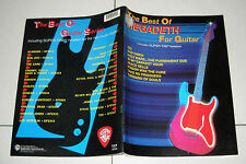 Spartiti MEGADETH The Best of Megadeth for guitar OTTIMO Songbook TAB notation