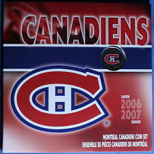 Canada 2007 - Montreal Canadiens Gift Set - 2006/07 Season - (25 cent) NT