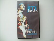 "Jimi Hendrix ""Live At The Atlanta Pop Festival"" Vhs"