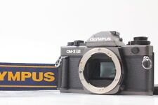 【Mint+++ w/Grip Strap】 Olympus OM-3 Ti Black 35mm SLR Film Camera Body Japan