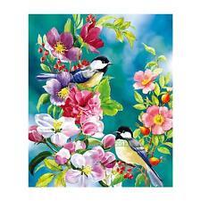 DIY 5D Bird Flower Diamond Embroidery Painting Cross Stitch Craft Home Decor Kit