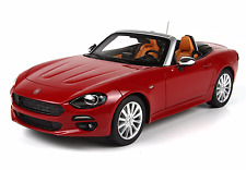 BBR BBRC1815RP - Fiat 124 Spider Rosso Passione 1/18