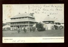 West Africa Gold Coast Kumasi Fort 1907 u/b PPC mailed from