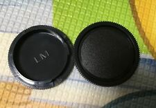2x  Camera body cap for Leica M mount LM L/M VM Lens M2 M3 M6 M8 M9 M