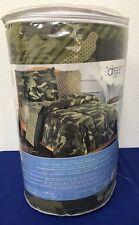Dream Factory Geo Camo Army Boys Camouflage Comforter Set Green Full NEW (3E)