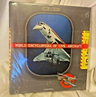WORLD ENCYCLOPEDIA OF CIVIL AIRCRAFT By Enzo Angelucci-Hardcover FACTORY SEALED