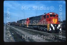 Original Slide Mexico FC del Pacifco  C36-7 448 & 2 W/Train Guad JAL 1987