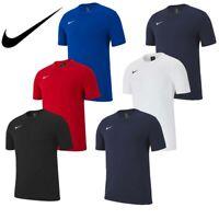Nike Boys T Shirts TShirt Club 19 Kids Football Jersey Gym Running Top Size