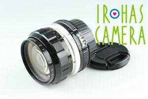 Nikon Nikkor-O Auto 35mm F/2 Ai Convert Lens #37586 A5
