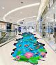 3D Lotus Pond 573 Floor WallPaper Murals Wallpaper Mural Print AJ AU Lemon