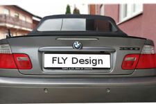für BMW 3er E46 Tuning COMPACT spoiler hecklippe CARBON look Slim lip becqeut tr