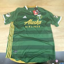 Adidas 2019 MLS Portland Timbers Authentic Soccer Mens Jersey Sz L Climacool NEW