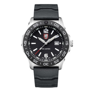 New Luminox Pacific Diver 3120 Black Dial Rubber Band Men's Watch XS.3121