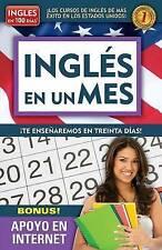 NEW Inglés en un mes (Serie Ingles en 100 Dias) (Spanish Edition) by Aguilar