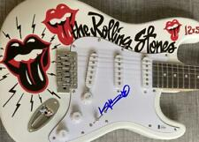 KEITH RICHARDS ROLLING STONES SIGNED AUTOGRAPH AMAZING CUSTOM PAINTED GUITAR BAS