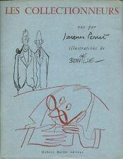 RARE EO HORS COMMERCE + JACQUES PERRET + GEORGES BEUVILLE  : LES COLLECTIONNEURS