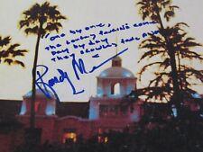 The Eagles Band Signed RAREST Handwritten Lyric Randy Meisner HOTEL CALIFORNIA !
