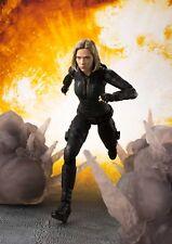 Avengers: Infinity War - Black Widow & Explosions S.H.Figuarts Set (Bandai)