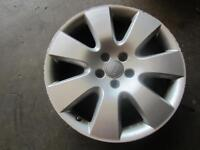 05-06 AUDI A6 Wheel rim silver painted 18x8 alloy 7 spoke