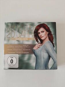 Andrea Berg Abenteuer 20 Jahre 1 CD 2 DVD 2013 Zustand Gut