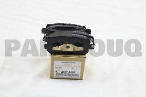 4605A487 Genuine Mitsubishi PAD SET,RR BRAKE