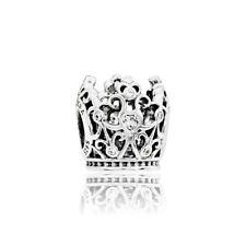 Authentic Pandora Bead Sterling Silver Disney Princess Crown Charm 791580Cz