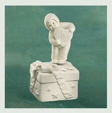 I LOVE YOU FROM THE BOTTOM OF #68921 DEPT 56 retired SNOWBABIES LIMITED EDITION