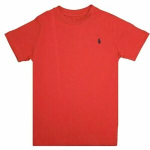 Polo Ralph Lauren Toddler Red - Navy Pony Round Neck S/S T-Shirt (S01)