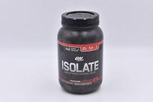 Optimum Nutrition Isolate Protein Powder, Chooclate Shake, 1.65lb, EXP: 06/2022