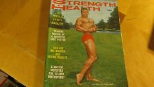 1966  (OCT) STRENGTH AND HEALTH MAGAZINE 82 PG GAY BODY BUILDING PHOTOS REDUCED