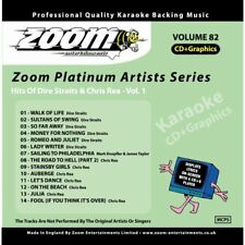 Zoom Karaoke Platinum Artists Vol. 82 CD+G - Hits Of Dire Straits & Chris Rea