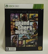 Grand Theft Auto V GTA 5 Collectors Edition (Xbox 360) Factory Sealed Incl. DLC