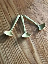 Tupperware vintage little spoon set #872-8