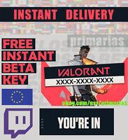 Compte Valorant Beta Access EU Account (Instant delivery) | 500 vente/sold!